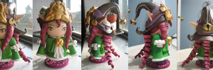 Dragon Trainer Lulu Miniature Model by GrapeFruitPunch