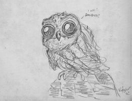 Cute owl by ViggObscure