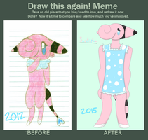 Before and After: Sweetieplum by XDTheServine