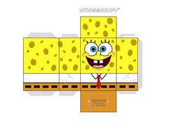 ALTERNATE Spongebob Cubee by captaincompson