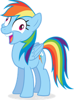 But I Didn't Listen - Rainbow Dash by TomFraggle