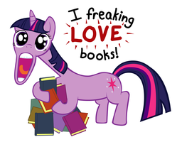 Twilight Likes Books by Capt-Nemo