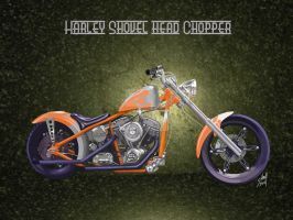 Harley Chopper by steverino365