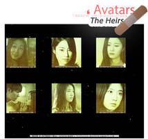 The Heirs (icons) #2 - Size 131 x by victoricaDES