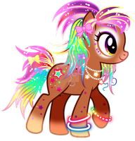 Pony Ganguro Adoptable CLOSED by YukiAdoptablesPonies