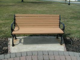 The Square Bench by Rubyfire14-Stock