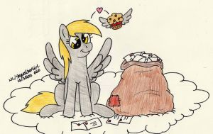 Another Random Derpy Drawing by SkywalkerGirl666