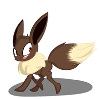 Eevee by Green-Patch