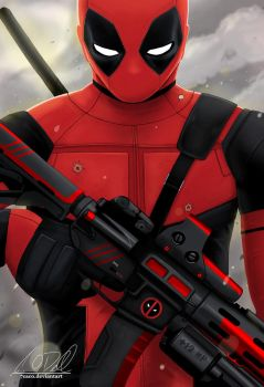 Commission: Deadpool by 7caco