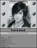 Newspaper Gackt Skin by CrestfallenKitsune