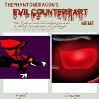 Evil Counterpart meme by QuestionTheDragon