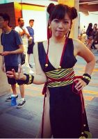 Chun Li alternate Fanime 2014 Japan Expo by LexLexy
