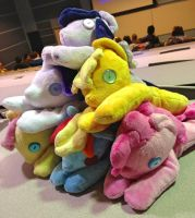 Pile of Ponies! by RedApropos