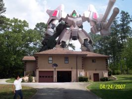 Mobile Suit Attack by VirgoT