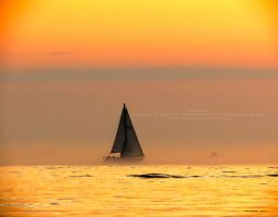 Sailboat at Sunset - Holland State Park by Foozma73