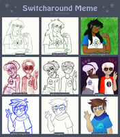 homestuck switcharound by knightic