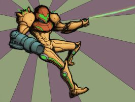Samus Strikes by theoryC