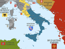 The Kingdom of Sicily by Hillfighter