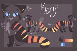 Kanji The Red Panda Reference by Philstock2000