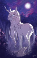 The Last Unicorn by Famosity
