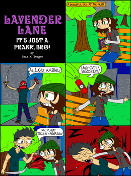 Lavender Lane - It's Just a Prank, Bro! by Sean-M-Yeager