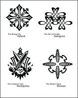 Vesperia Town Crests - Part 2 by fishytasty