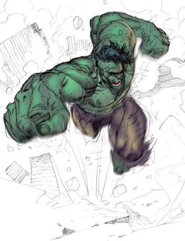 The Hulk by ardian-syaf