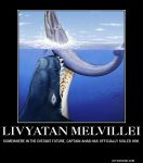 Livyatan Melvillei Demotivational Poster by Haxorus54