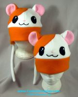 Hamster hats ver. 2 by The-Cute-Storm