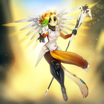 Mercy cosplay by Dannyckoo