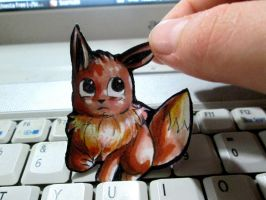 Paperchild 206.Pokemon#133 - Evee by FuriarossaAndMimma