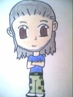 WWE-Chibi Matt Hardy by nike1221