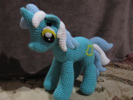 Lyra Heartstrings by NerdyKnitterDesigns