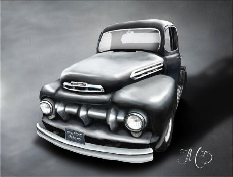 1950er Ford Pickup by Trek25