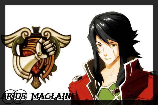 Arios Maclaine colored by sillily