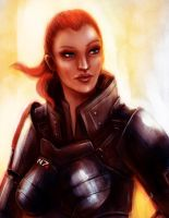 Commission FemShep by Geirahod