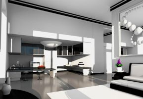 """""""Dream Apartment"""" Sideview 3 by flowermuncher"""