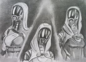 sketches Tali (60) by spaceMAXmarine
