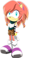 Art Trade - Solar The Hedgehog by Noble-Maiden