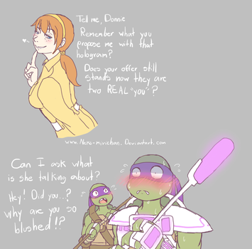 TMNT 2012 - Two for the price of one by Neko-mirichan