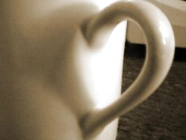 Mug.... Heart by Mysteriouspizza