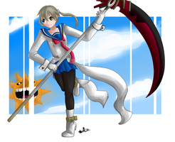 Maka in her new outfit by ProSonic