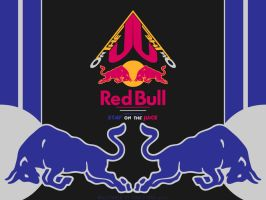 RedBull  Stay OnThe Juice  Wallpaper by GovectorZ