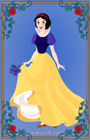 Snow White by SingerofIceandFire