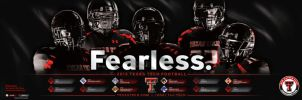 Texas Tech football poster by Satansgoalie