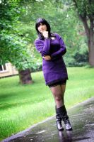 :Nico Robin: Rainy Day by Dark-Nami