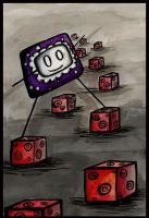 Walking on Cubes by numb-synapse