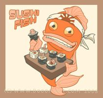 Sushi Fish by Sanaril