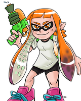 Splatoon - Inkling by theEyZmaster