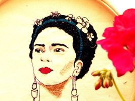 Frida Kahlo by christaleni